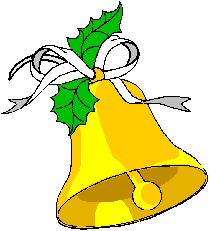 NON-TRANSPARENT CHRISTMAS BELLS CLIP ART