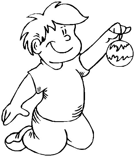 christmas ornament coloring images