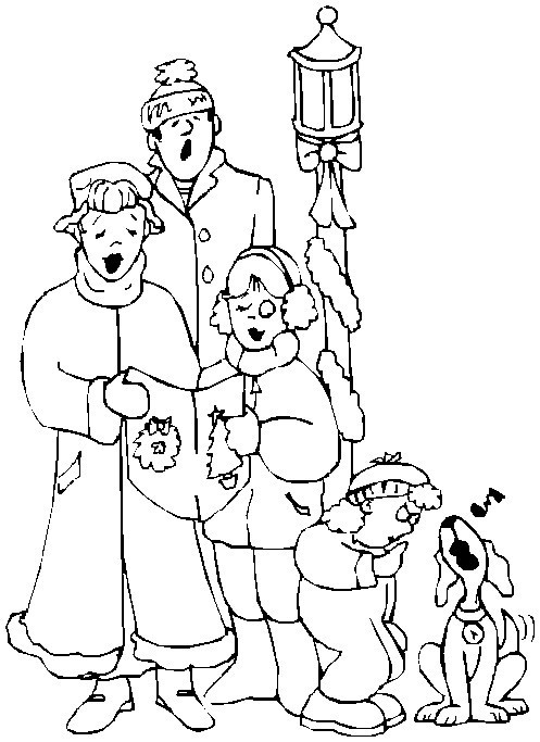 family fun coloring pages christmas - photo#7