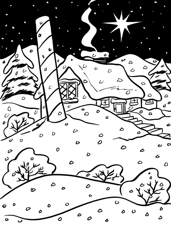 free north pole coloring pages - photo#26