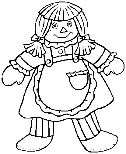 Rag Dolls Drawing Rag Doll