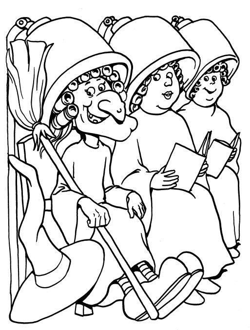 nail salon coloring pages - photo #17